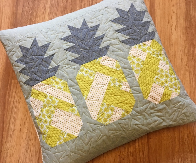 Pineapple Farm Quilt And Pillow Pattern Brby Elizabeth Hartman
