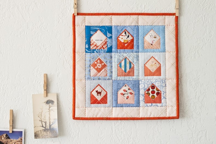 Envelopes Quilt Pattern<br>by Carolyn Friedlander : envelope quilt pattern - Adamdwight.com