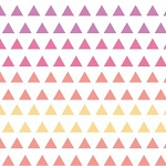 Triangle Gradient in Wildberry