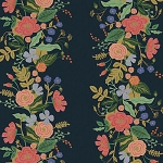 Garden Vines in Navy | Canvas