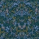 Tapestry in Navy | Rayon