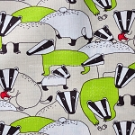Badgers in Lime