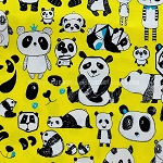 Pandas in Yellow