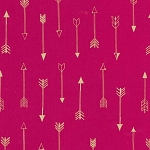 Arrow Flight in Fuchsia Metallic