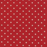 Linen Mochi Dot in Red