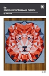 Jungle Abstractions Quilt: The Lion by Violet Craft