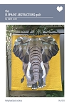 Elephant Abstractions Quilt by Violet Craft
