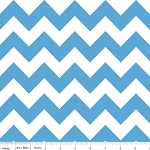 Medium Blue Chevron | Medium