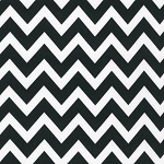 Large Zigzag in Black