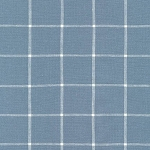Grid in Chambray | Yarn Dyed