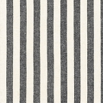 Stripe in Black | Yarn Dyed