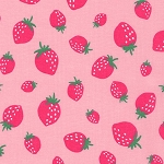 Strawberries in Pink