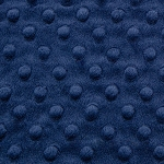 Navy Cuddle Dimple Minky