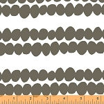 Bead Stripe in Charcoal