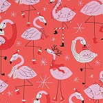 Fa La La Flamingo in Red