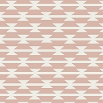 Tomahawk Stripe in Blush