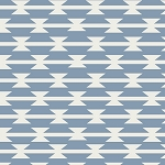 Tomahawk Stripe in Cloud