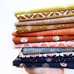 Along the Fields Fat Quarter Bundle