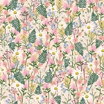 Wildflowers in Pale Rose | Cotton Lawn