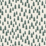Fir Trees in Silver