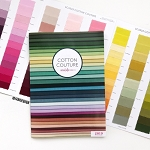 Cotton Couture Swatch Card | 214 Colors