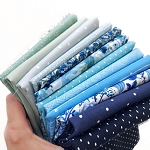 Blue Garden Yardage Bundle