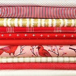 Cardinal Delight | Fat Quarter Bundle