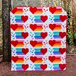 Confetti Hearts Quilt Bundle