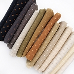 Crossed Neutrals | Fat Quarter Bundle