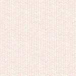 Herringbone in White and Pink