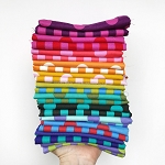 Pom Poms and Stripes | Yardage Bundle