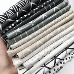 Zoology Neutrals Fat Quarter Bundle