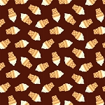 Ice Cream Cones in Cone Brown