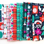 Handmade Holiday Fat Quarter Bundle