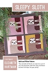 Sleepy Sloth Quilt Pattern <br>by Elizabeth Hartman