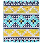 Mayan Mosaic Quilt<br>by Suzy Quilts
