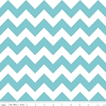 Aqua Chevron | Medium