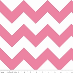Hot Pink Chevron | Large
