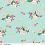 Floral Main in Mint