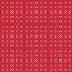 Swiss Dot in Red