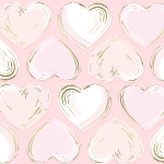 Locket in Blush Metallic