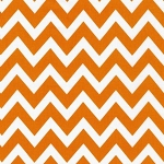 Large Zigzag in Tangerine