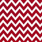 Large Zigzag in Red