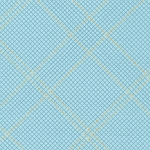 Grid Diamond in Dusty Blue