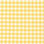 Carolina Gingham 1/4 Inch in Yellow