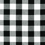 Carolina Gingham 1 Inch in Black