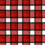 Plaid in Cardinal | Flannel