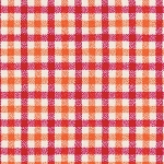 Tri-Tone Gingham in Strawberry | Flannel