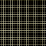 Grid in Black Gold Metallic