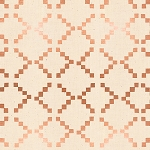 Tile in Copper Metallic